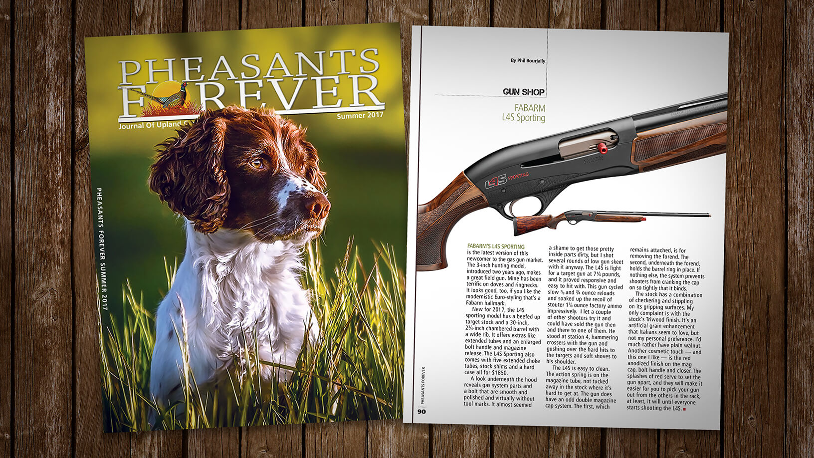 [Pheasants Forever: Summer 17] Gun Shop: Fabarm L4S Sporting